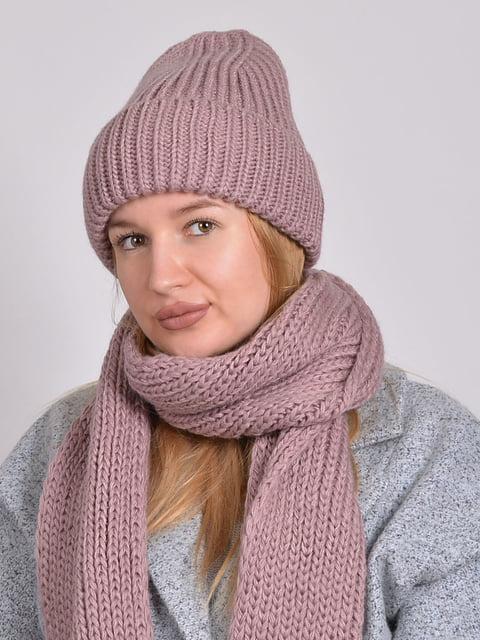Комплект: шапка і шарф Monleo 5271856