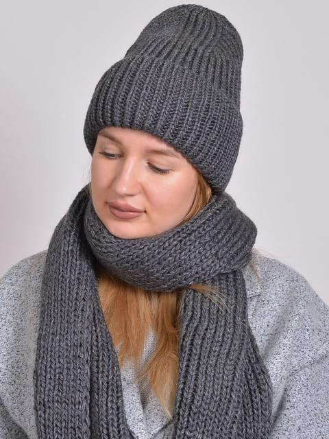 Комплект: шапка і шарф Monleo 5271863