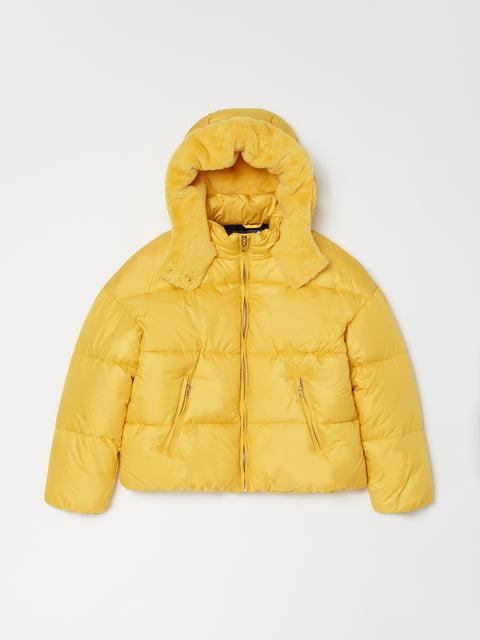 Куртка жовта Oviesse 5271702