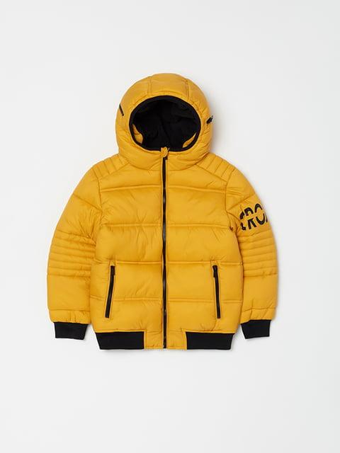 Куртка жовта Oviesse 5265098