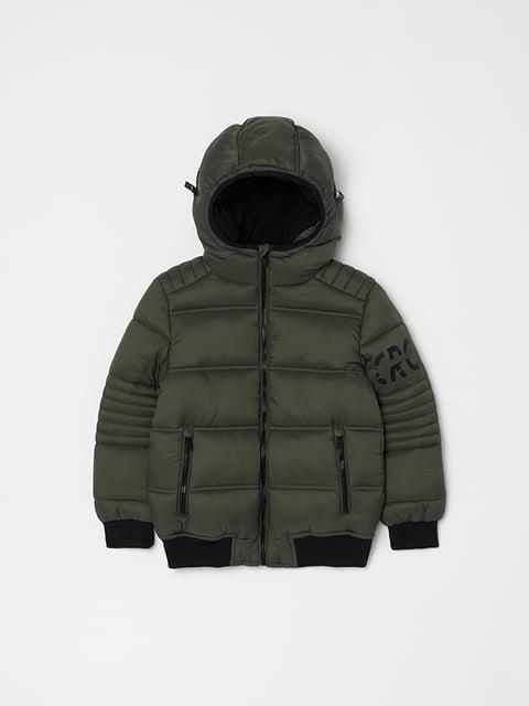 Куртка кольору хакі Oviesse 5265100