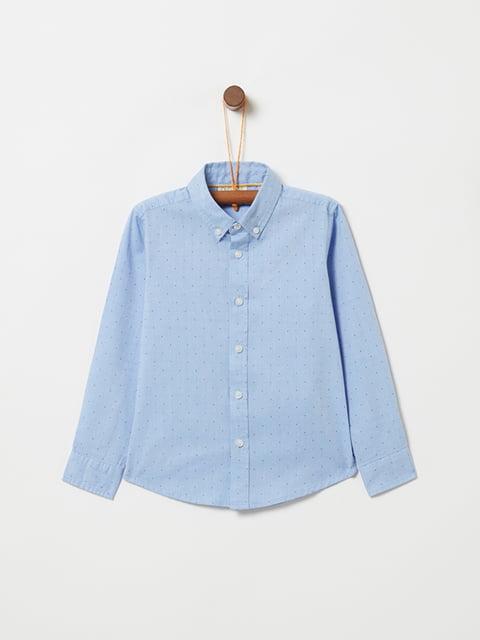 Рубашка голубая Oviesse 5265200