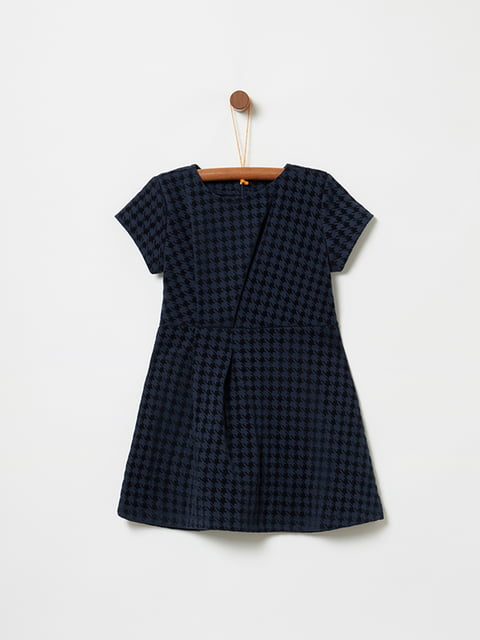 Платье темно-синее в принт Oviesse 5265214