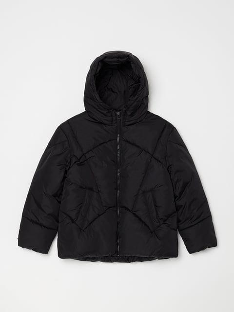 Куртка чорна Oviesse 5271634