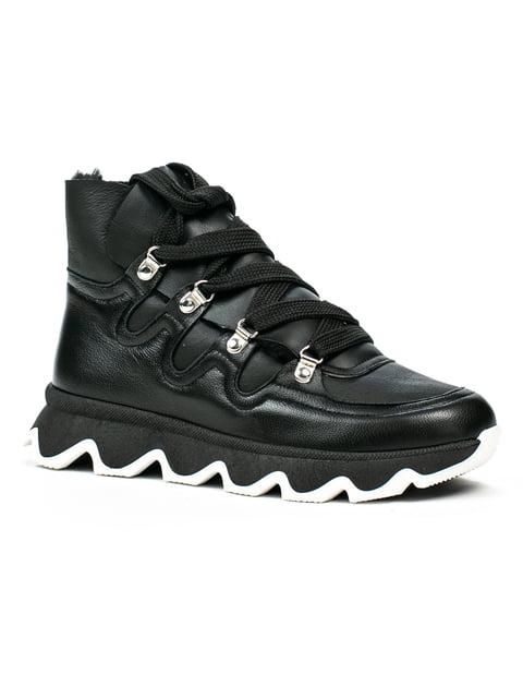Ботинки черные Fabiani 5274748