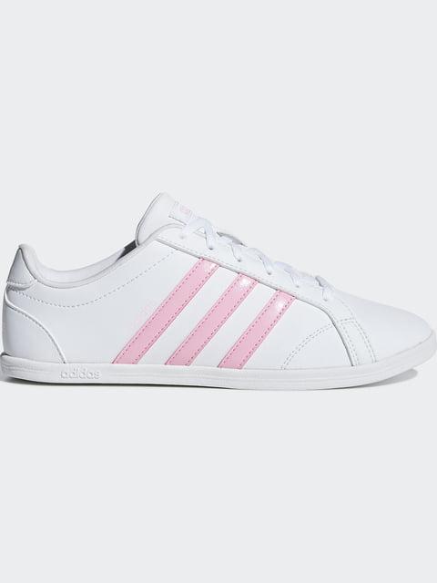 Кроссовки бело-розовые Adidas 5152116