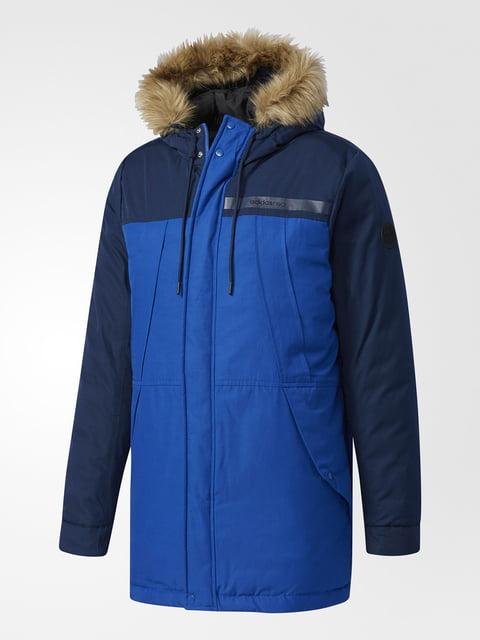 Куртка сине-черная Adidas 5261695