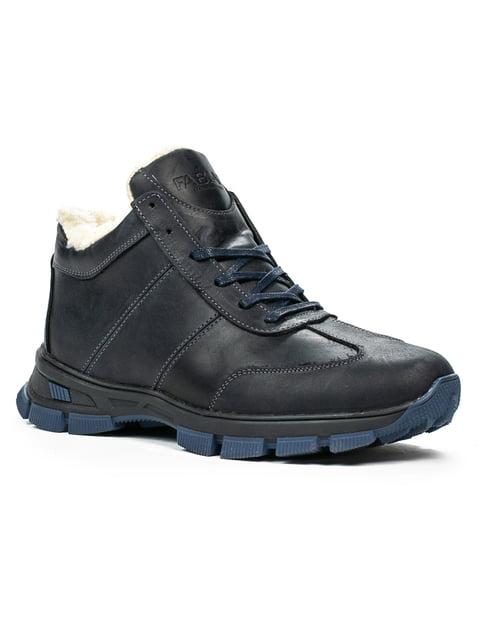 Ботинки черные Fabiani 5262455