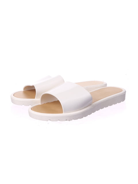 Шльопанці білі DF-Shoes 5274003