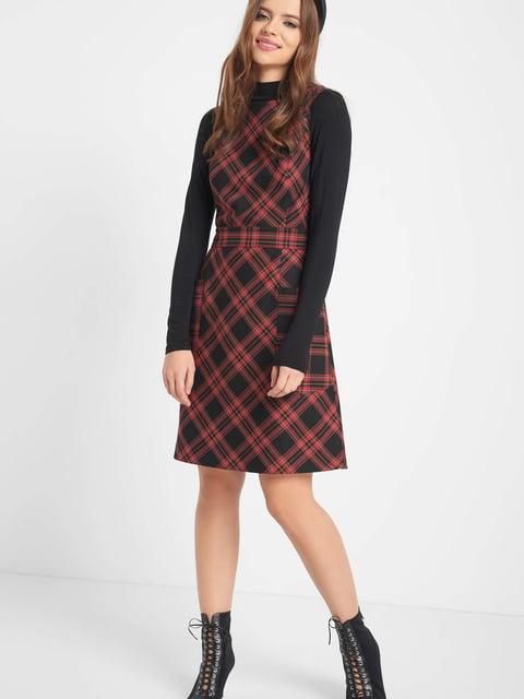 Сукня чорно-червона Orsay 5277049