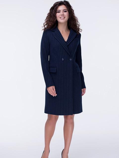 Пальто темно-синє Almatti 5210338