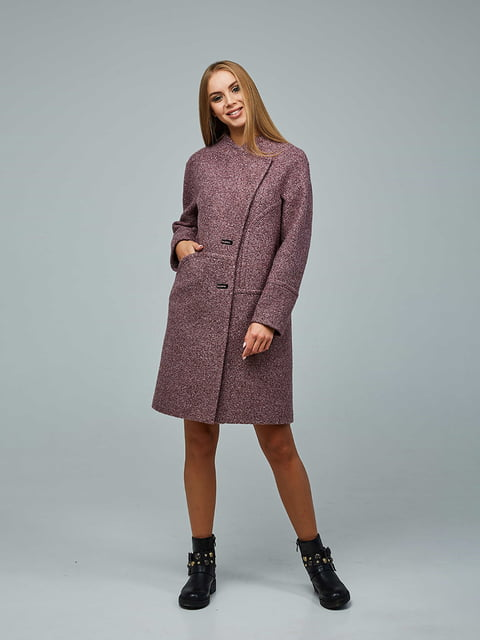 Пальто кирпичного цвета Favoritti 5212266