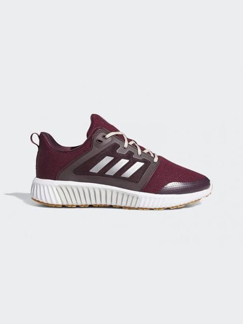 Кроссовки бордовые Adidas 5274698
