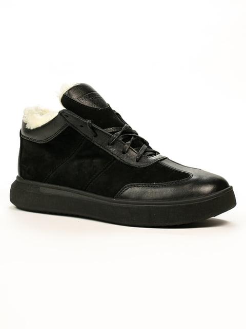 Ботинки черные Franzini 5259009