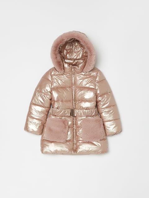 Куртка рожево-золотава Oviesse 5271622