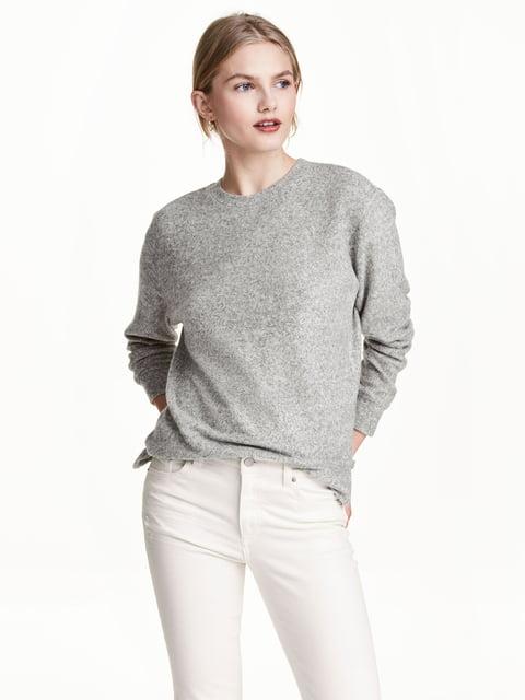 Джемпер сірий H&M 5282250