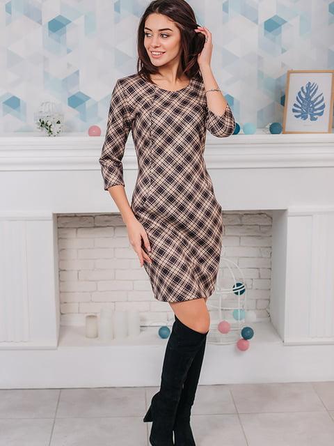 Платье в клетку VSV 5282577