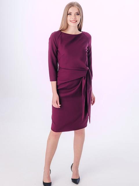 Платье цвета марсала VSV 5282582