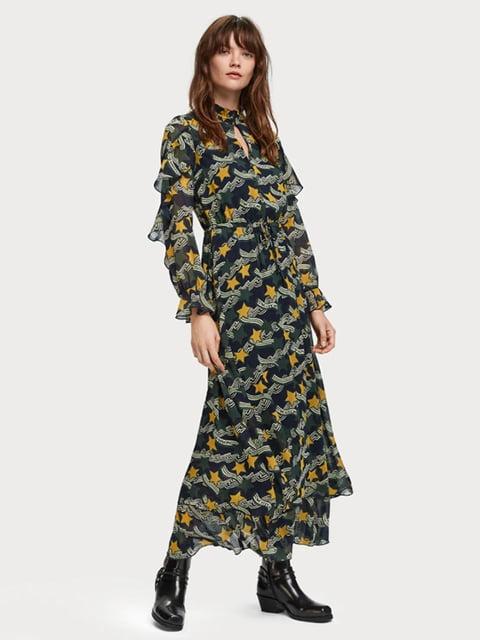 Сукня в принт з зірками Scotch&Soda 5227939
