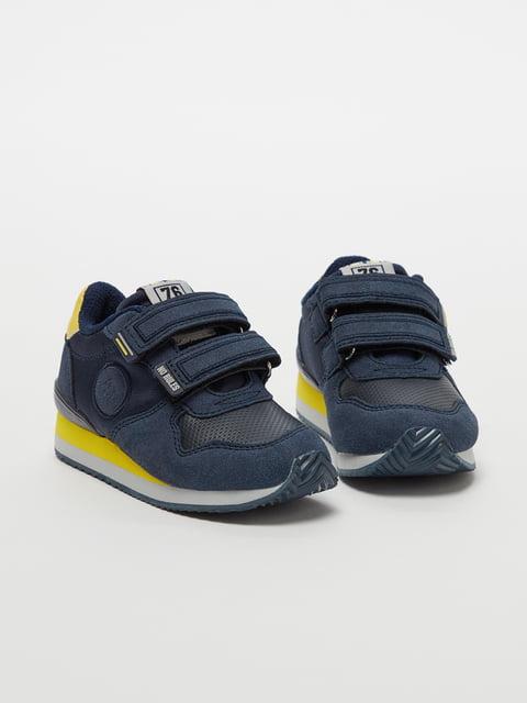 Кросівки синьо-жовті Oviesse 5183680