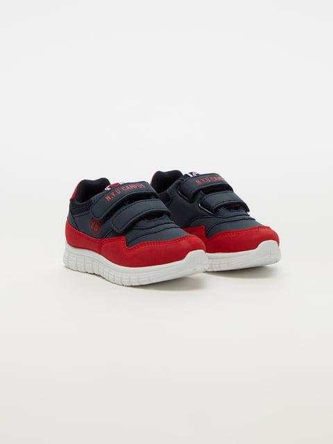 Кросівки синьо-червоні Oviesse 5183727