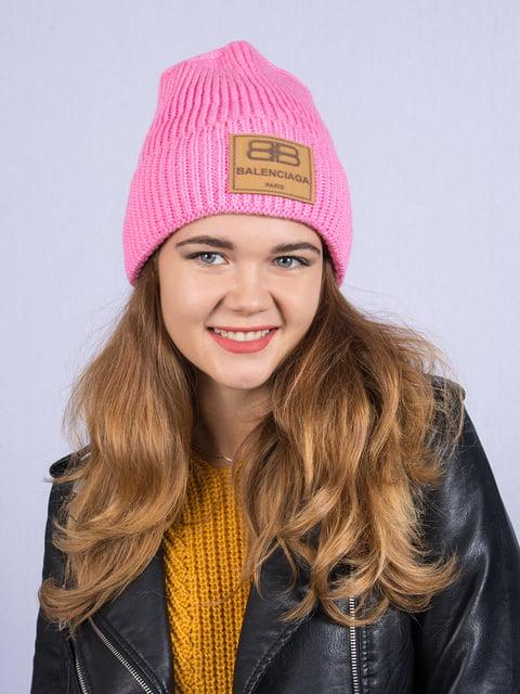 Шапка рожева Fashion Look 5258595