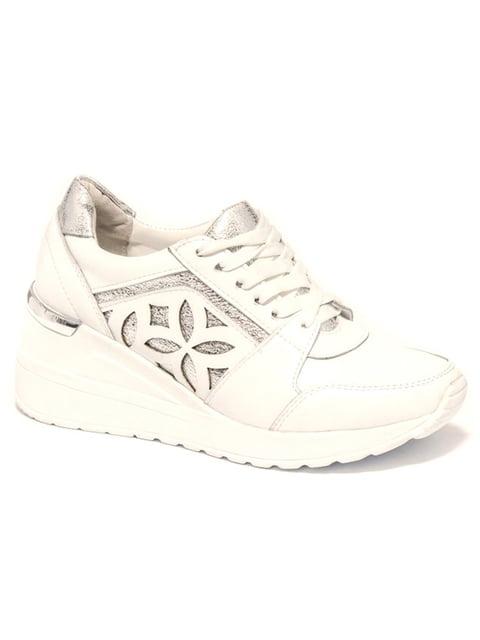 Кроссовки белые Kluchini 4915984