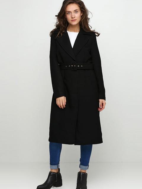 Пальто черное H&M 5283080