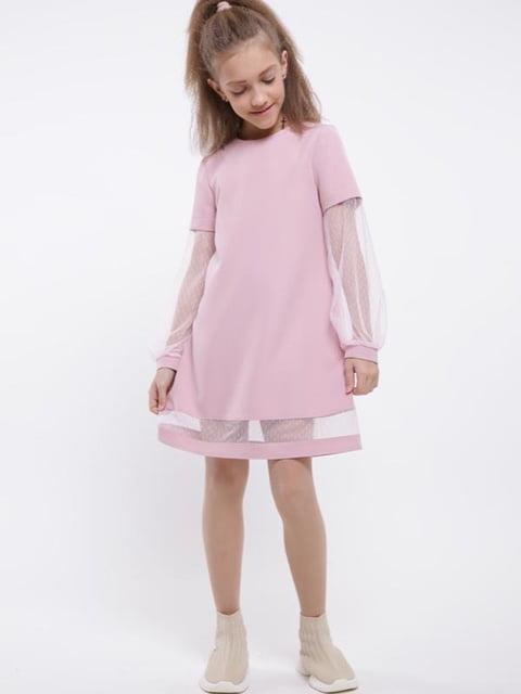 Платье розовое Sofia Shelest 5283496