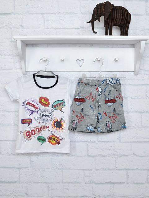 Комплект: футболка и шорты finesko 5284647