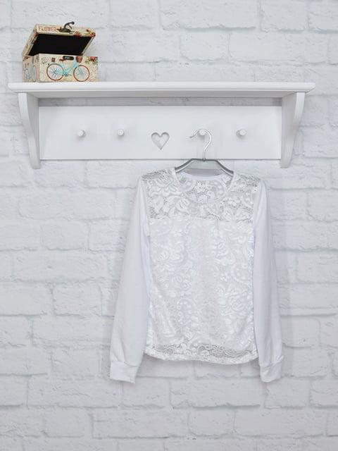 Блуза біла finesko 5284743