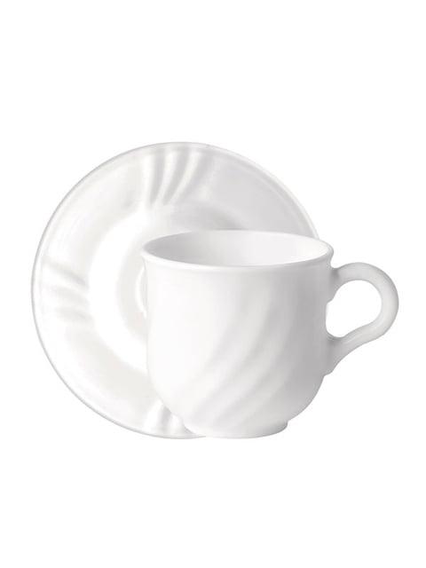 Набір чашок із блюдцями (6 шт.; 160 мл) Bormioli Rocco 5217367