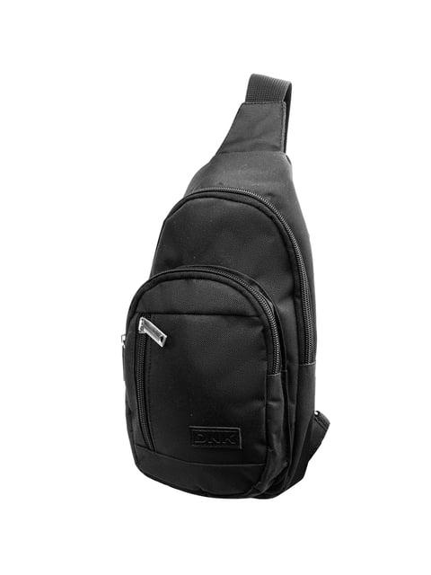 Сумка-рюкзак чорна DNK LEATHER 5285240