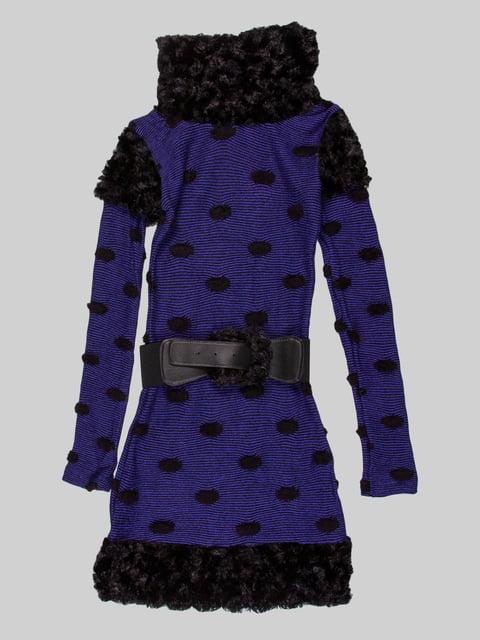 Сукня синьо-чорна Marions 5285894