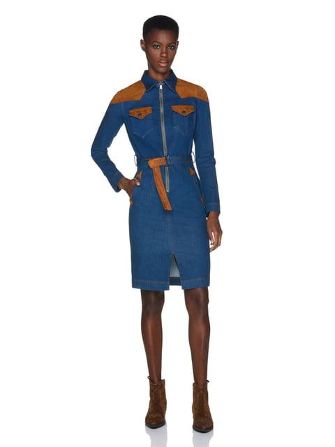 Сукня синя Benetton 5271391