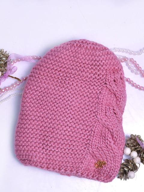 Шапка рожева Monleo 5288100