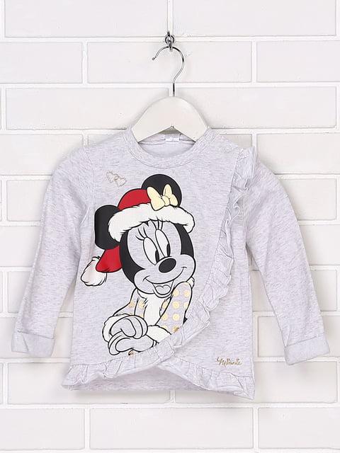 Світшот сірий Disney 5290613