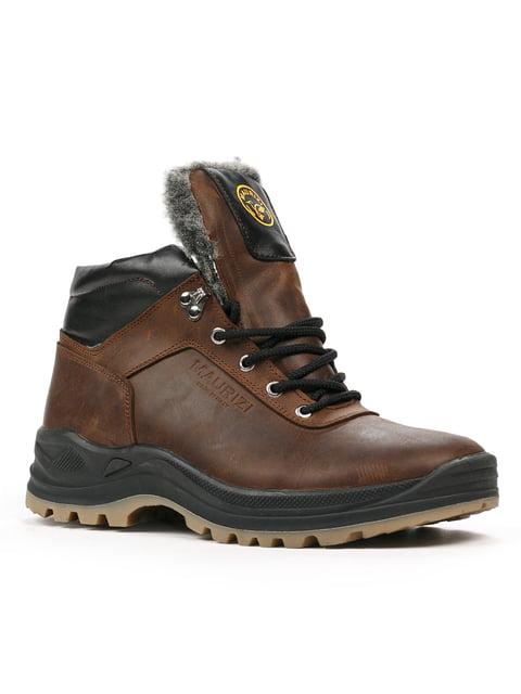 Ботинки коричневые Maurizi 5290983