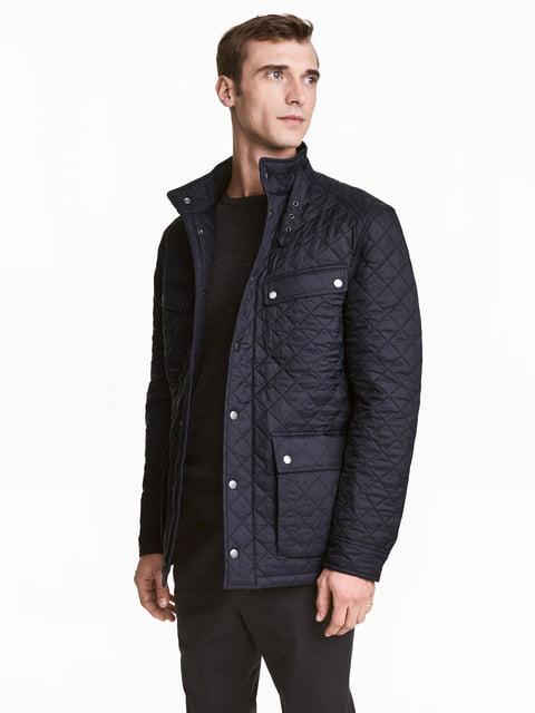 Куртка темно-синя H&M 5288496
