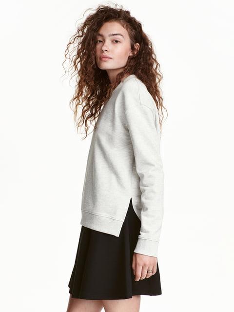 Світшот сірий H&M 5291936
