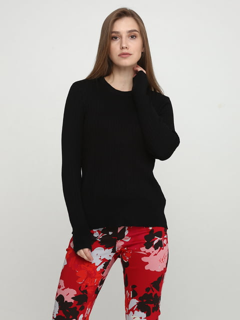 Джемпер чорний H&M 5291976