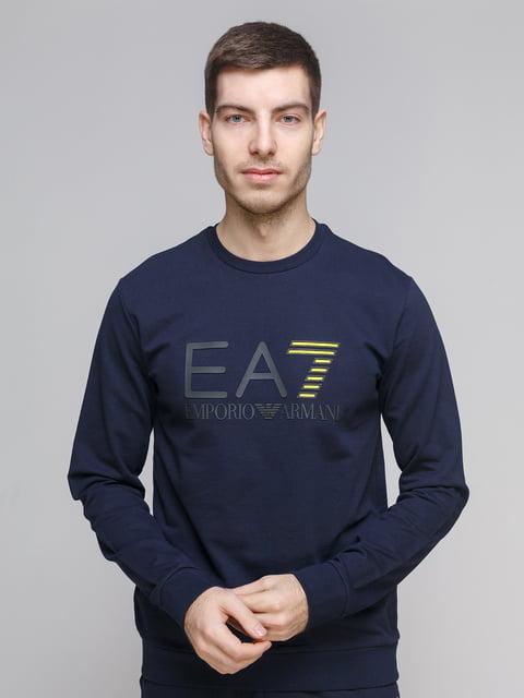 Світшот темно-синій Emporio Armani 5289592
