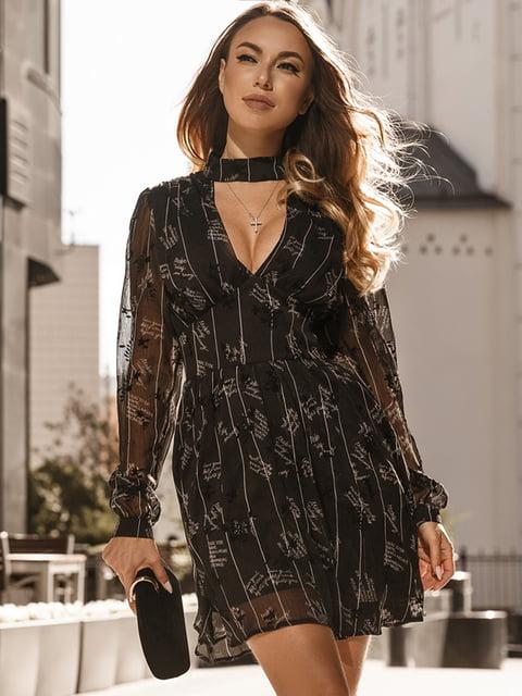 Платье черное Gepur 5291078