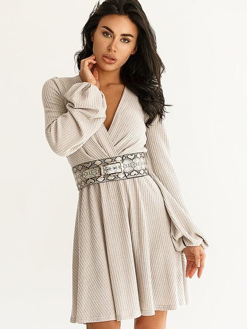 Платье серое Gepur 5291117