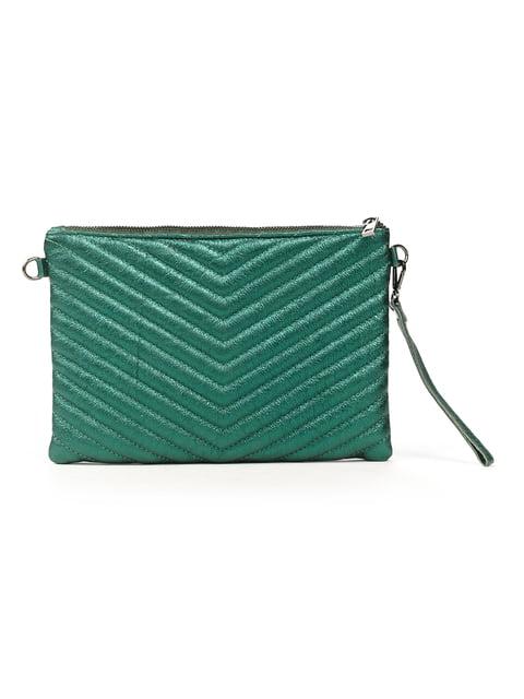 Клатч зелений Amelie Pelletteria 5292618