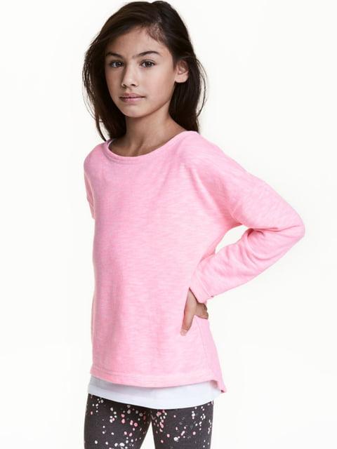 Реглан рожевий H&M 5296630