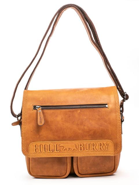 Сумка коричнева HILL BURRY 5300974
