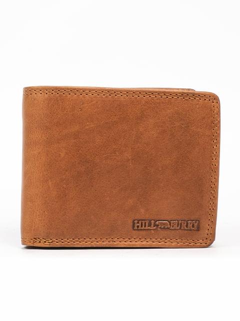 Гаманець коричневий HILL BURRY 5300981