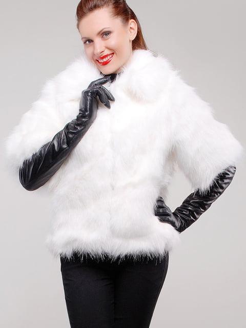 Шуба біла Ghazel 5303253
