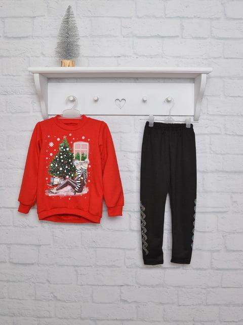 Комплект: свитшот и брюки finesko 5303671